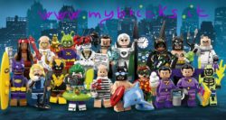 Lego 71020 Minifigures Serie Lego Batman Movie 2 - Collectibles Series Lego January 2018