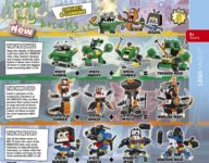 Lego Mixels Series 9 - 41572-41580 October 2016