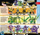 Lego Mixels Series 6 - 41545-41553 October 2015