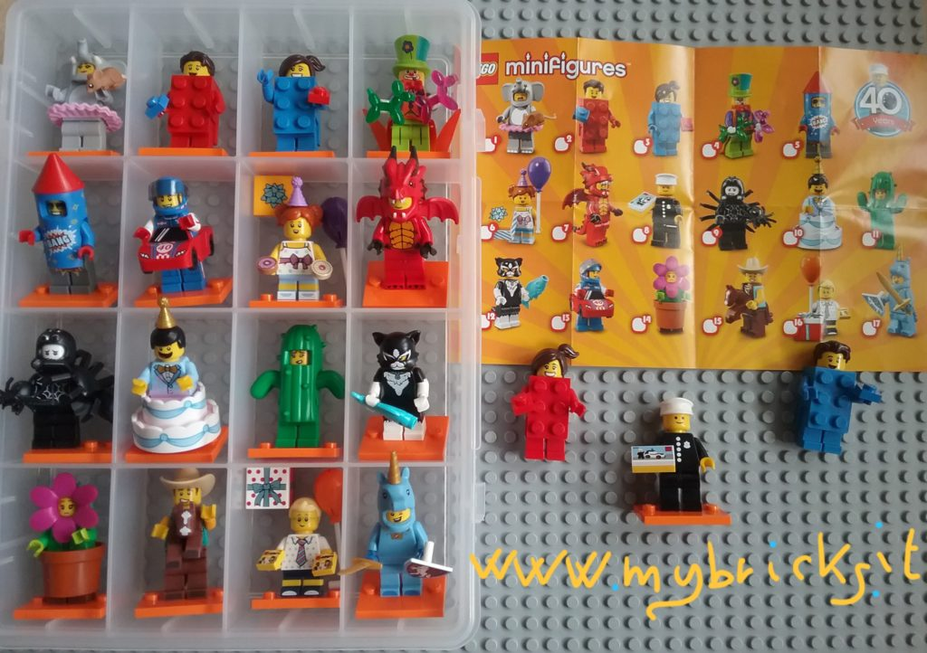 Lego 71018 Minifigures Serie 17 - Collectibles Series Lego May 2018