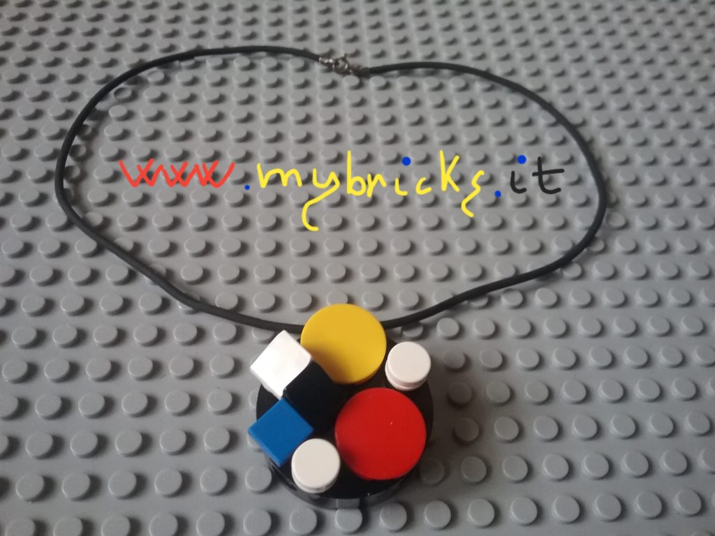 Lego Mondrian - Pendant