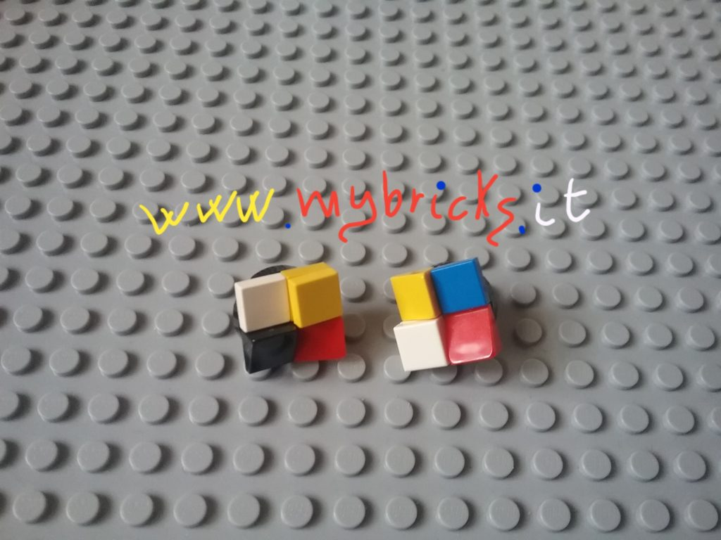 Lego Mybricks Mondrian collection - Earrings