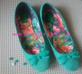 Lego Mybricks Shoes Collection - Turquoise Ballerinas