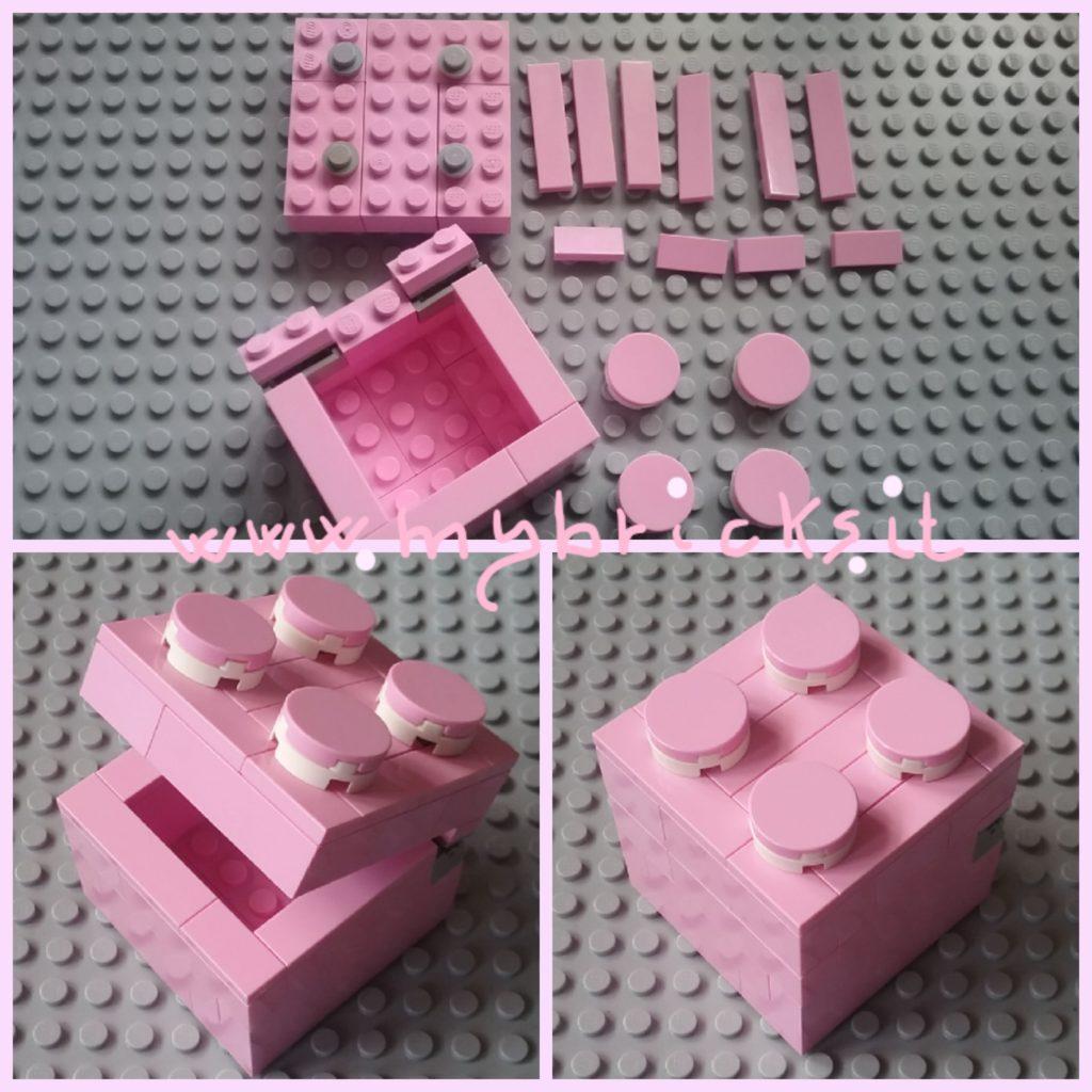 Lego Box DIY Scatolina fai da te