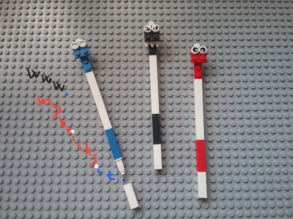Lego Stationery Emoticon