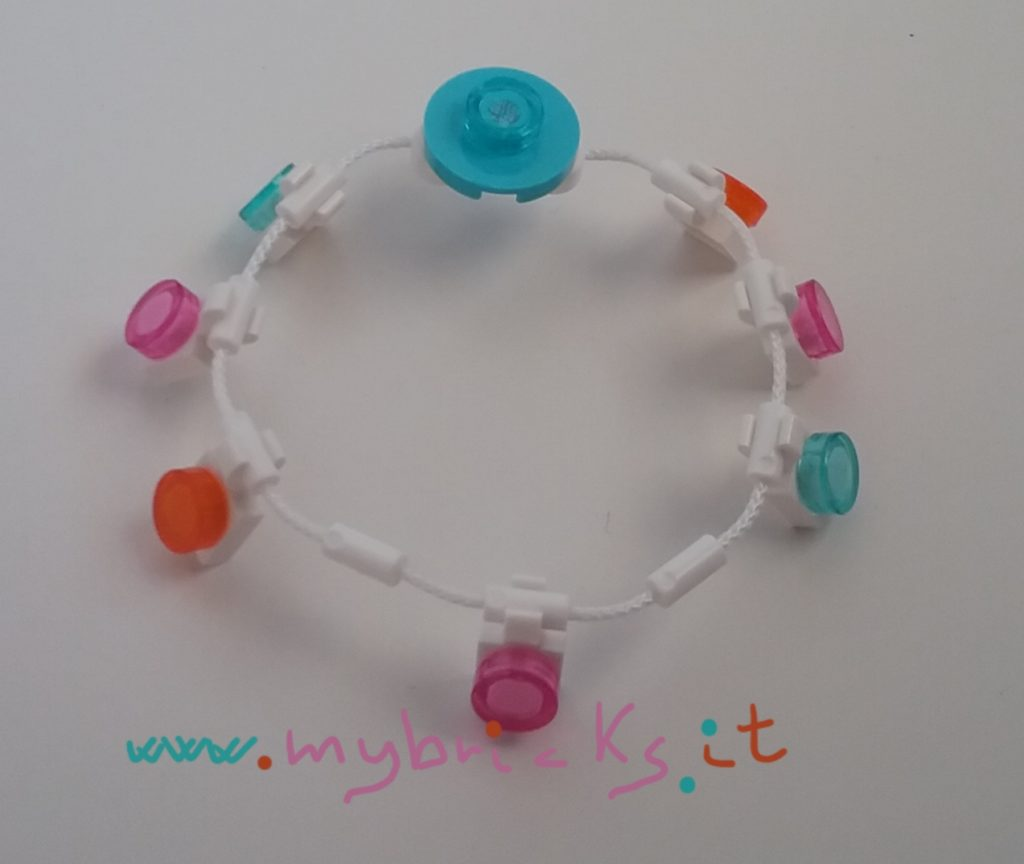Lego party festoon bracelet