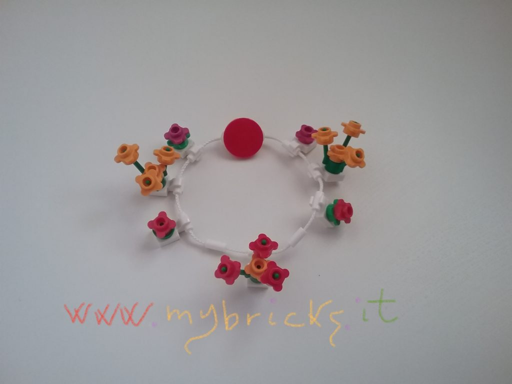 Lego Flowers bracelet