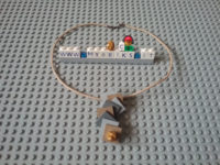 Lego Gold nugget jewel Mybricks.it