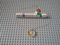 Mybricks Crystal effect Lego charm