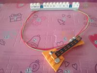 Lego Friends electric guitar Necklace Day #2