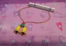 Lego Friends Bells necklace Day #3