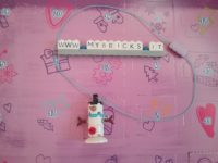 Lego Friends Snowman necklace Day #5