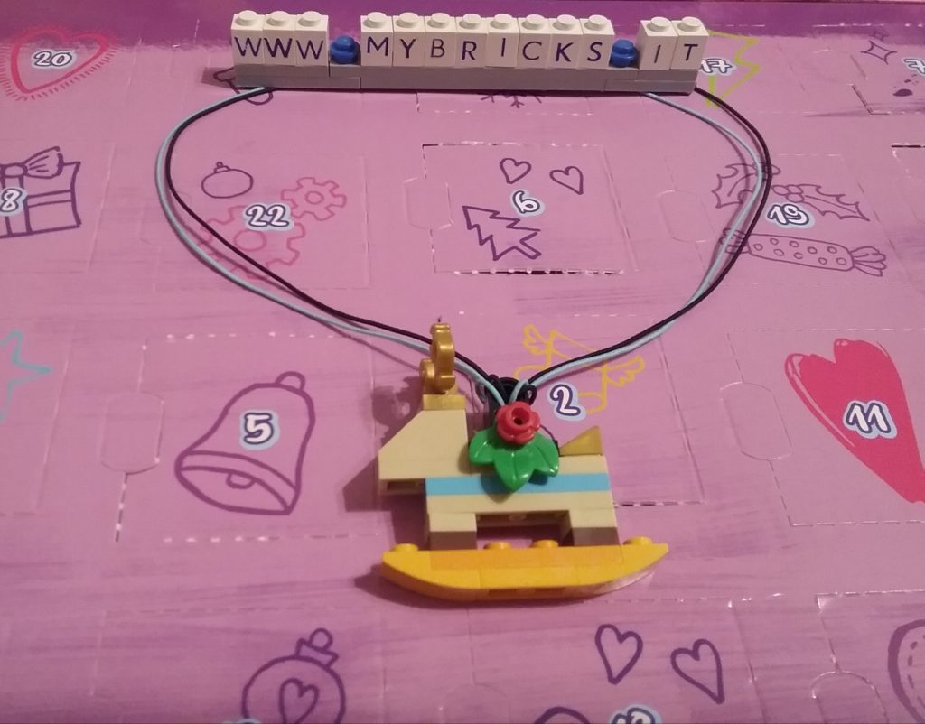 Lego Friends Reindeer Necklace Day #9