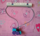 Lego Friends Christmas Train Necklace Day #17