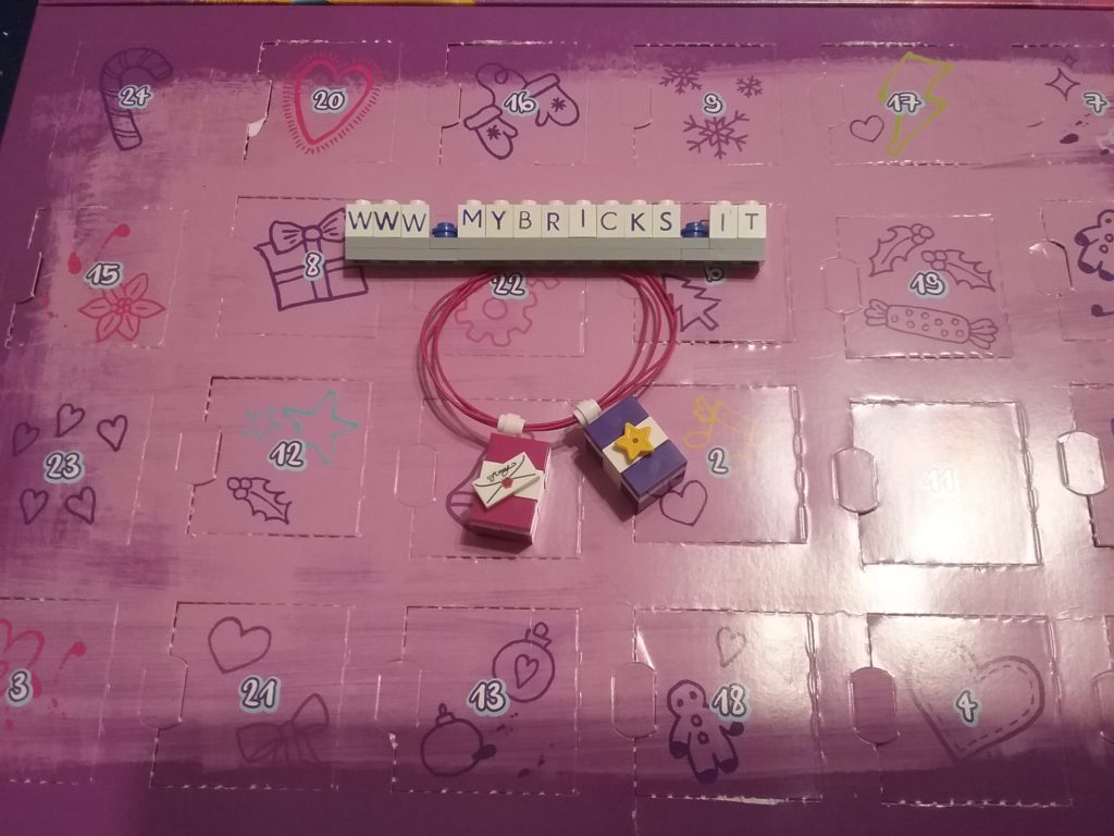 Lego Friends Presents Bracelet Day #21