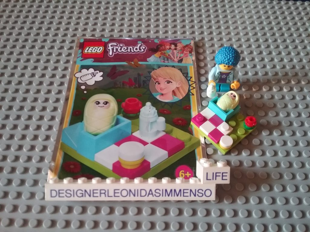 Baby Diana From Lego Friends Magazie #17