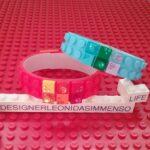 Lego glitter bracelets