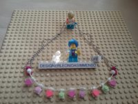 Lego pastel necklace