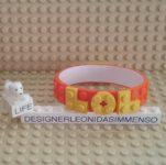 MOC Lego DOTS LOL bracelet