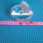 Lego Glitter bracelet