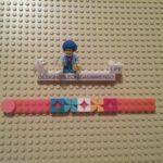 Lego DOTS frames bracelet