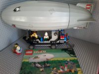 Lego 5956 Air Baloon Expedition Zeppelin Dirigibile