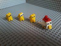 Lego Gallina Pulcino Chicken Chick