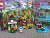 Lego 41044 41045 41046 Friends serie 5 - Collectibles series Lego May 2014