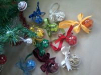 Lego Christmas decorative balls