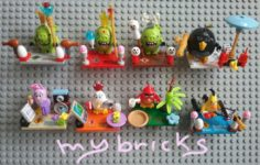 Lego compatible – SL toys – Angry Birds Minifigures King&Queen Pig Piggy Bomb Stella Matilda Red Chuck