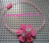 Lego Jewelry – Flower Pendant Necklace