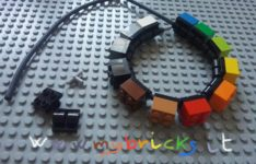 Lego Jewelry – Bracelet jewel –  Plate Modified with Pin Holes