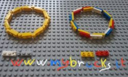 Lego Jewelry - Bracelet jewel - Hinge Plate with Fingers