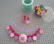 Lego Jewelry – Necklace jewel – Round Tiles