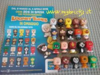 Lego size – Eurospin – Looney Toones Cubic heads