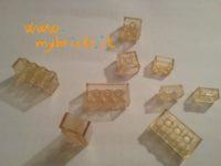 Lego Samsonite clear bricks – from set 045?