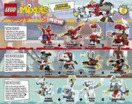 Lego Mixels Series 8 - 41563-41571 June 2016