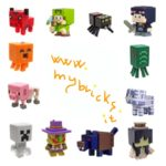 Lego size – Mattel – Minecraft collectible series 9 - Spooky