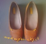 Lego Mybricks Shoes Collection - Yellow Decollete
