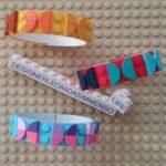 Lego butterflies frames bracelets