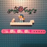 Lego DOTS rabbits bracelet with paws