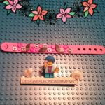 Lego DOTS cats bracelet