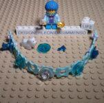 Lego Scala blue bracelet