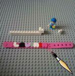 Lego DOTS personalized bracelet