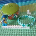 Mybricks blue Lego Scala bracelet