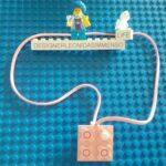 Mybricks pink Lego Scala pendant